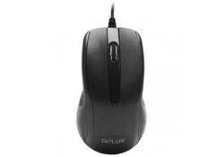 DELUX DLM-395BU, USB, Black