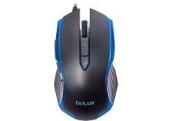 DELUX DLM-M556BU, USB black