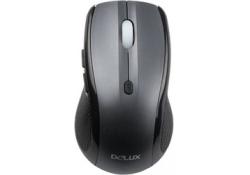 DELUX DLM-107BU, USB, Black