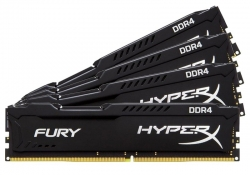 16GB(4x4GB) PC-19200 DDR4-2400 Kingston HX424C15FBK4/16