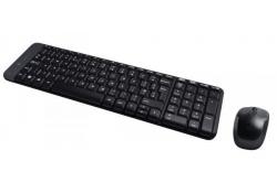 Набор (Клавиатура+мышь) Logitech Wireless Combo MK220