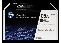 Картридж HP CE505D HP 05A Black 2-pack LaserJet Toner Cartridge