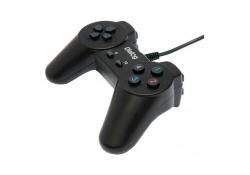 Геймпад GP-A01 Dialog Action - 10 кнопок, USB, черный