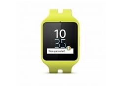 Умные часы Sony SmartWatch 3 желтые