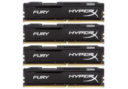 16GB(4x4GB) PC-21300 DDR4-2666 Kingston HX426C15FBK4/16