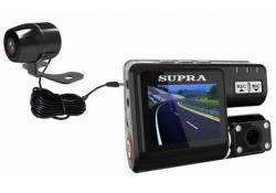 Видеорегистратор SUPRA SCR-810DC