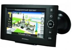GPS навигатор SUPRA SNP-439VR Встроенный видеорегистратор NAVITEL