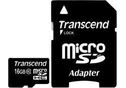 Карта памяти Transcend TS16GUSDHC10 16GB micro SDHC Class 10 Card